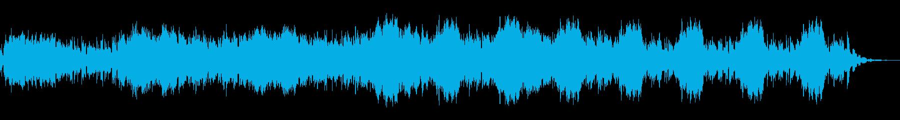物語の一つの分岐点に合いそうな曲の再生済みの波形
