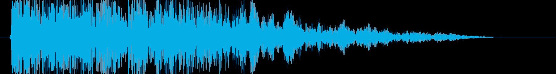 衝撃 エアストライク29の再生済みの波形