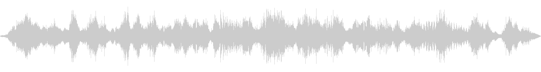 リラックスできる音楽の未再生の波形