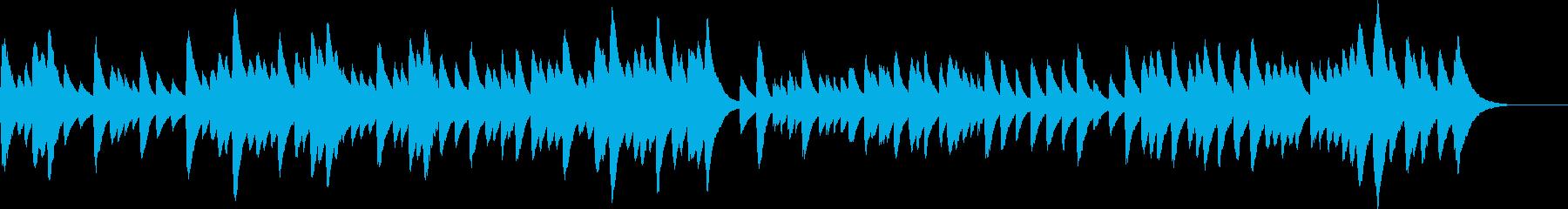 メヌエット/バッハ、の暖かいオルゴールの再生済みの波形