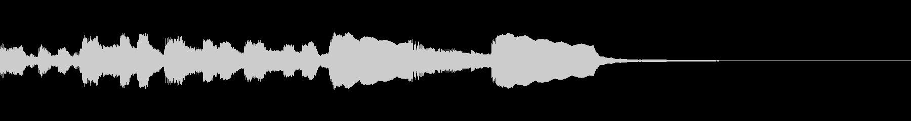 ひと昔前のレトロなゲーム効果音の未再生の波形