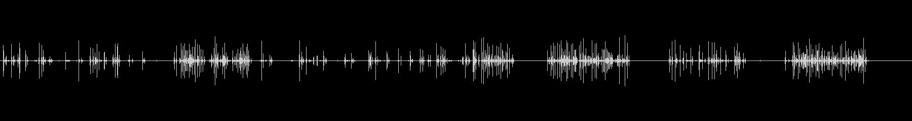 コンピューターのキーボード-タイピ...の未再生の波形