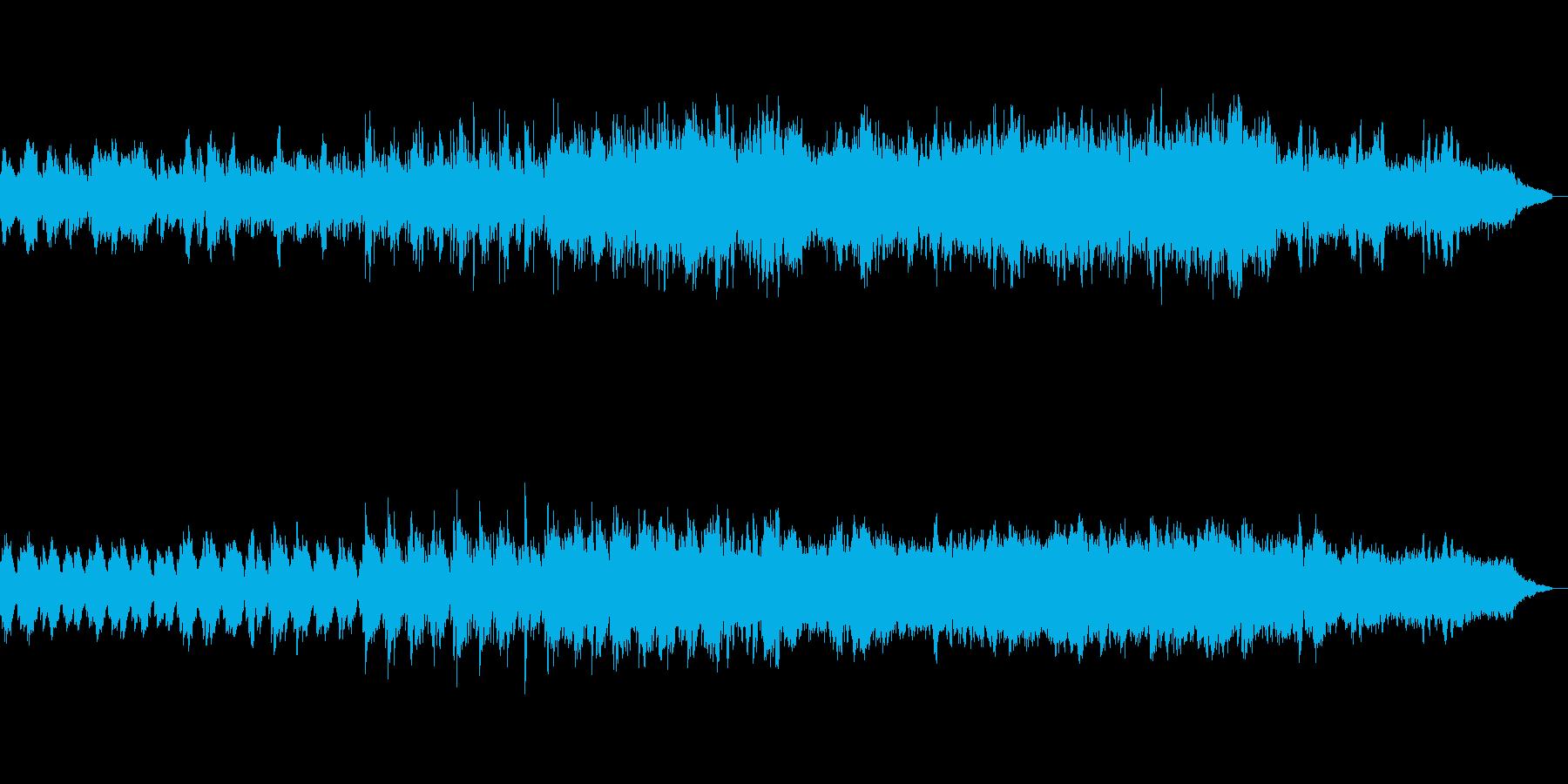 エレクトロ ピアノ 穏やか の再生済みの波形
