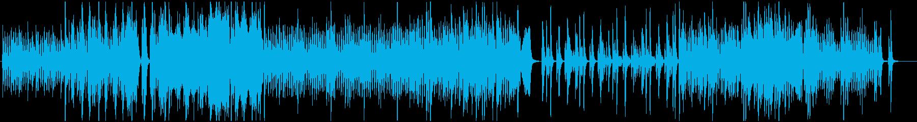ストリングス中心の爽やかで軽やかな曲ですの再生済みの波形