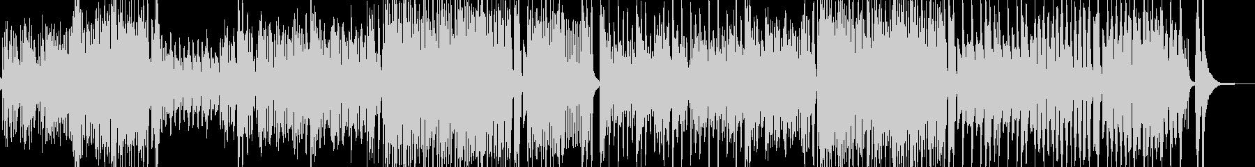 トランペット・活気豊かなマーチ・打楽器有の未再生の波形