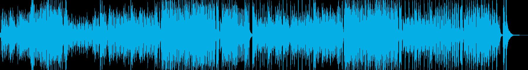トランペット・活気豊かなマーチ・打楽器有の再生済みの波形
