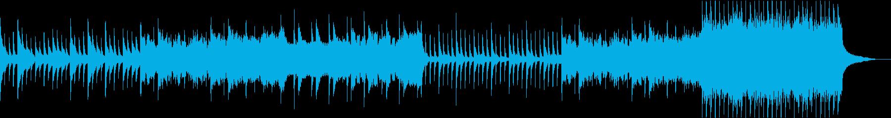 哀しいピアノトリオの再生済みの波形