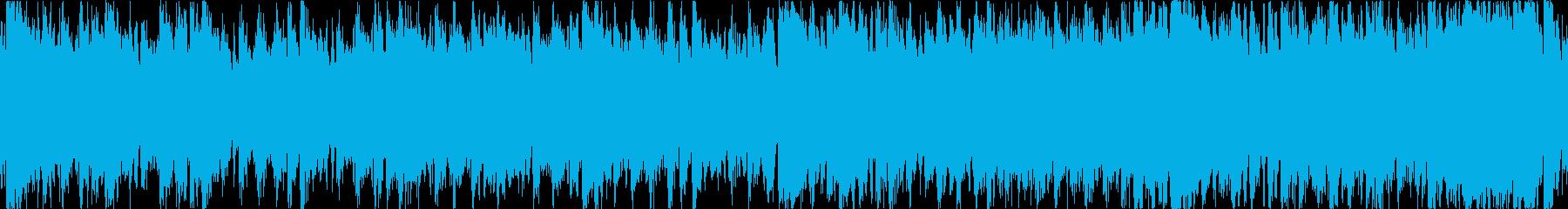 壮大なイメージのオーケストラのバトルル…の再生済みの波形
