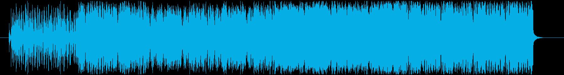 【明るいゲーム用BGM】常夏・ビーチの再生済みの波形