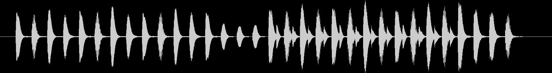 ほのぼのした場面切り替えなどに使える曲の未再生の波形