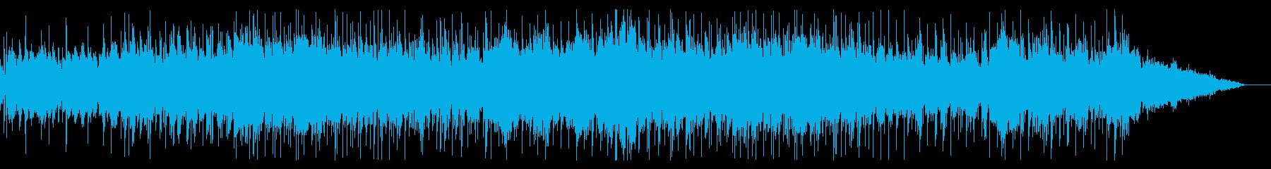 薄暗くホラーなIDMテクスチャの再生済みの波形