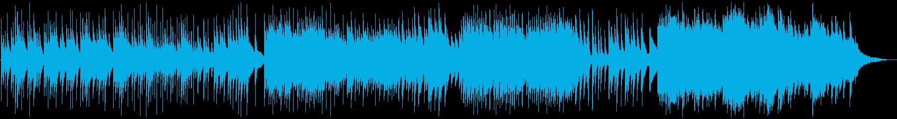 オルゴール的ピアノで感動的明るく切ないの再生済みの波形