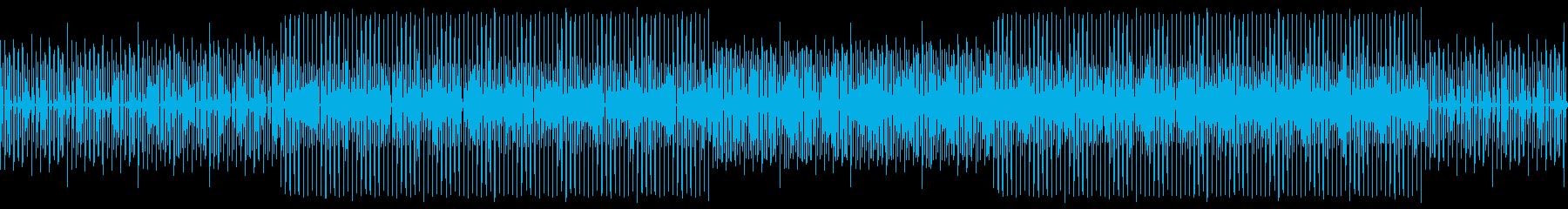 ファンキーの再生済みの波形