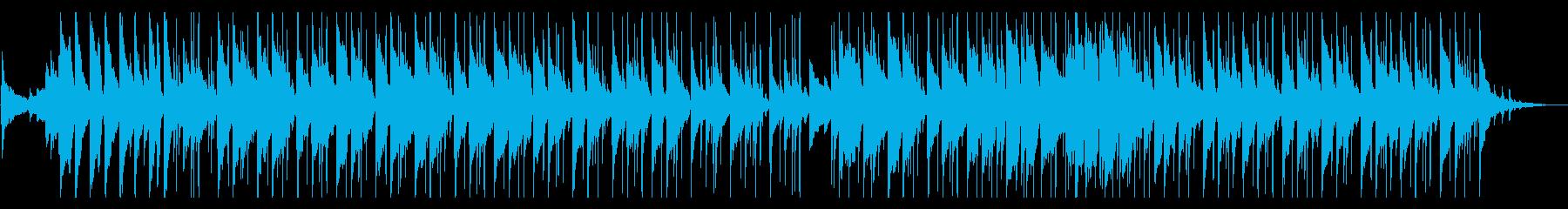 シンデレラをイメージしたポップなBGMの再生済みの波形