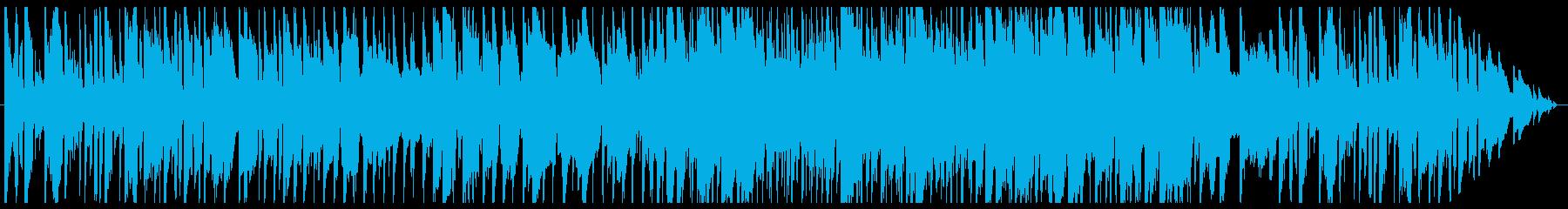 民族調のフィールド曲その3の再生済みの波形