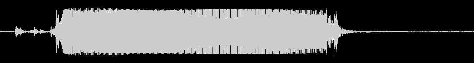ギターメタルパワーコードzhの未再生の波形