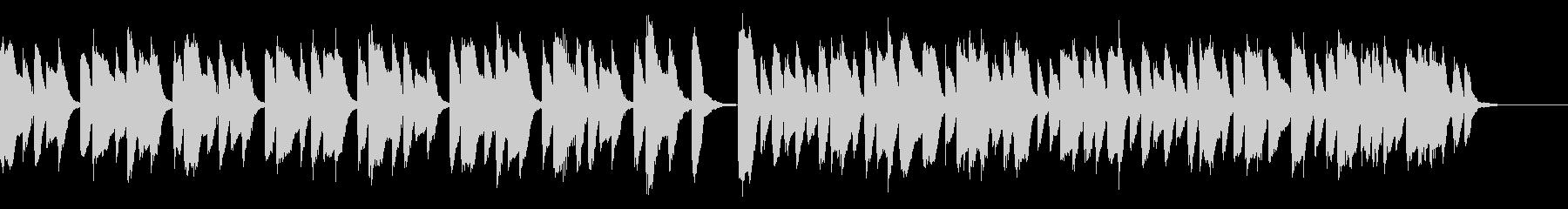 知育・料理・パズル・日常ピアノ29Aの未再生の波形