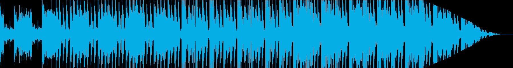 おしゃれなアコギが奏でる2ステップの再生済みの波形