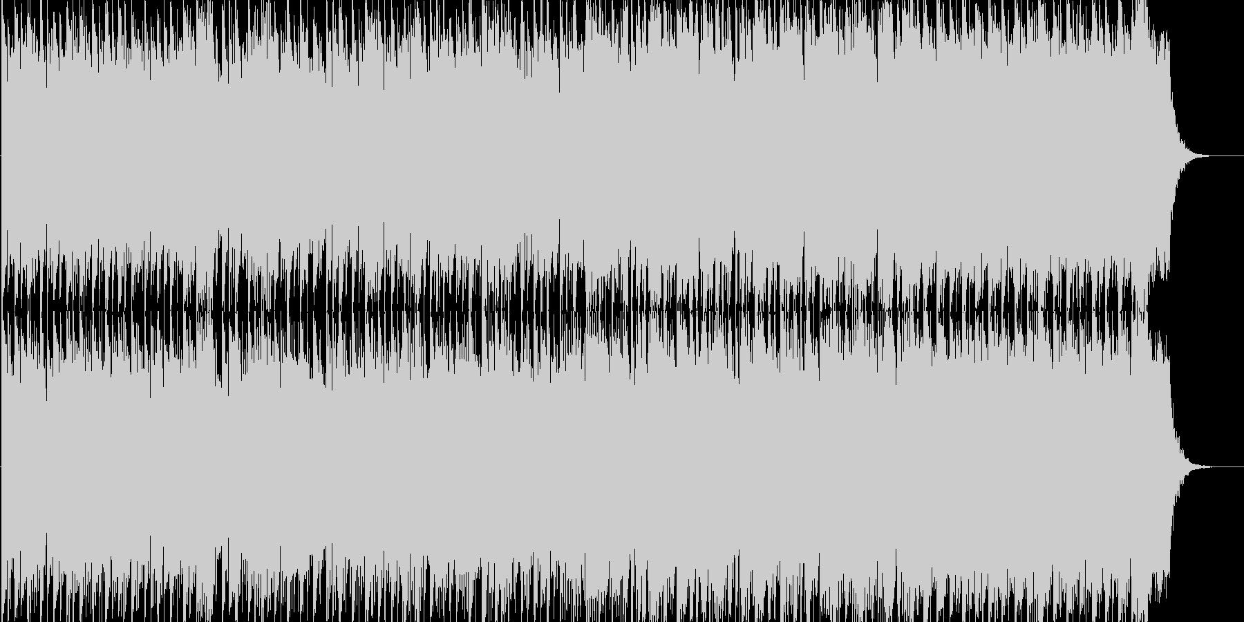 幻想的なテクノサウンドでYMO風の未再生の波形