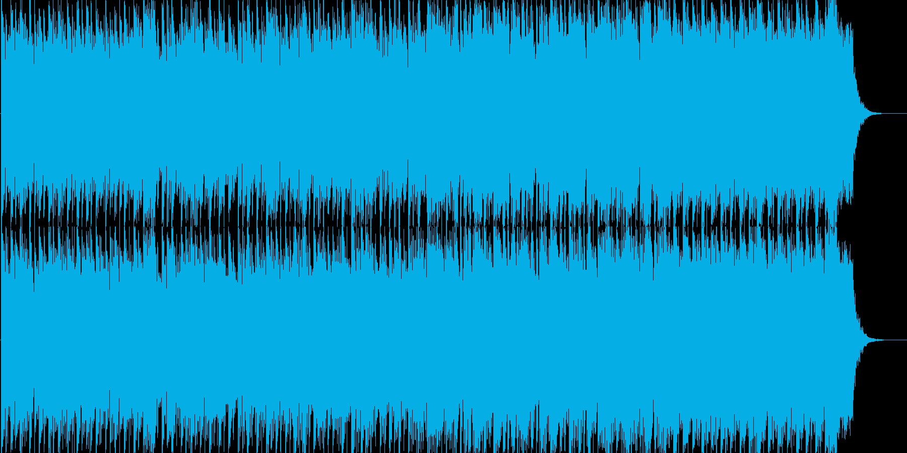 幻想的なテクノサウンドでYMO風の再生済みの波形