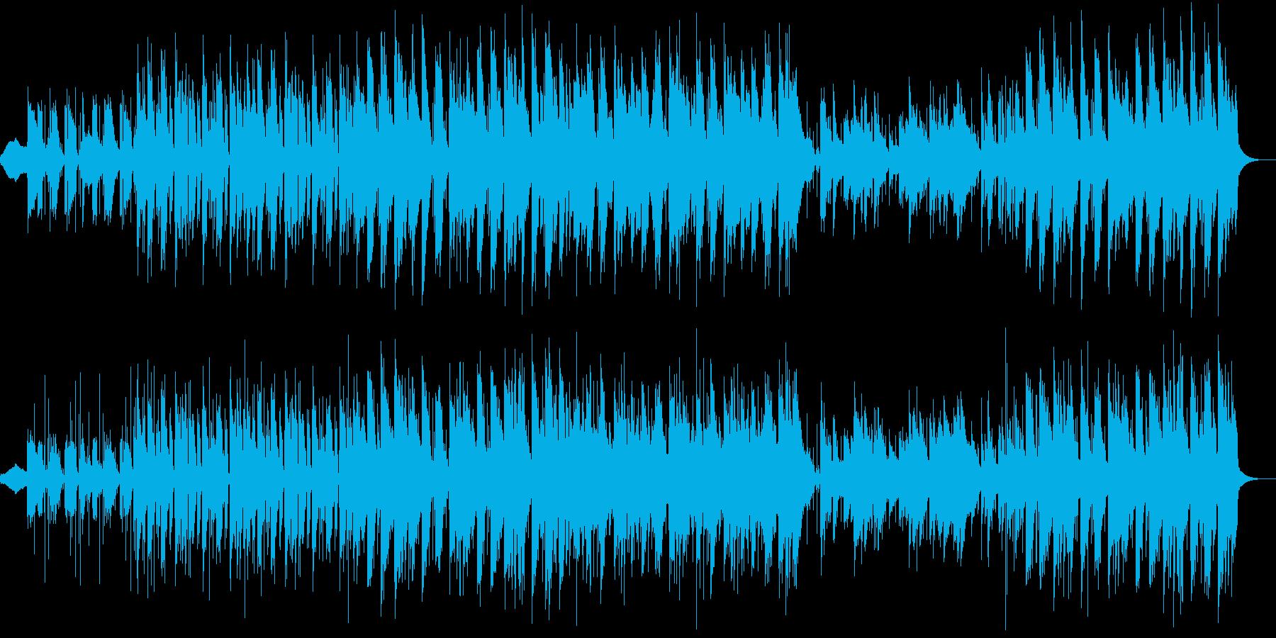 怪しげな雰囲気のインド音楽の再生済みの波形