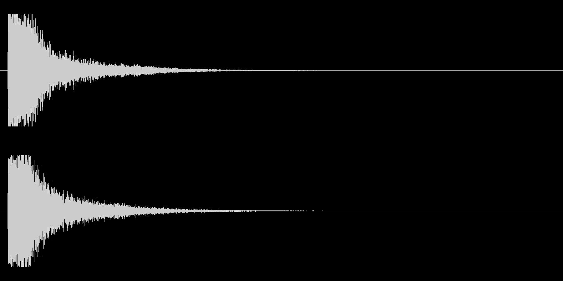 レーザー音-13-1の未再生の波形