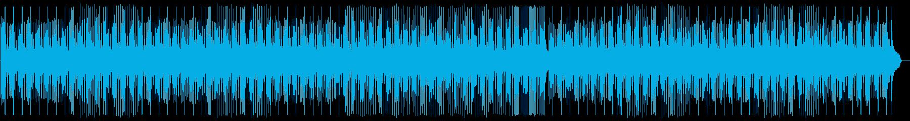 わくわくするファンタジックな音色の再生済みの波形