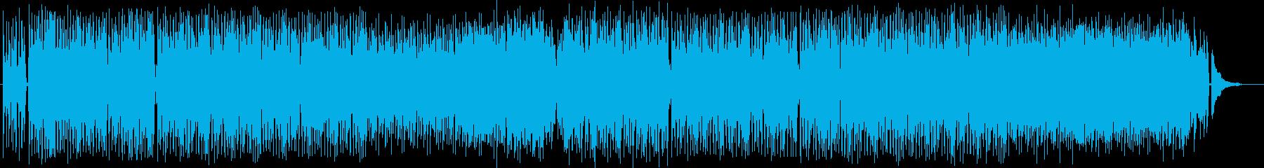 おしゃれでドラマ感のピアノギターサウンドの再生済みの波形