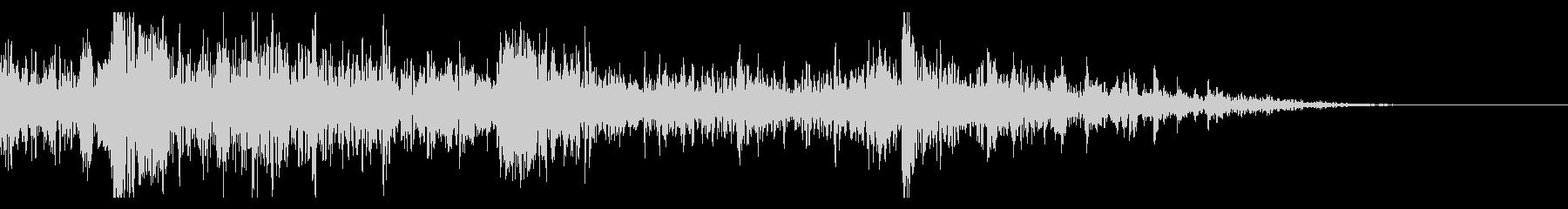 ドンパァ!花火の本当にリアルな効果音13の未再生の波形