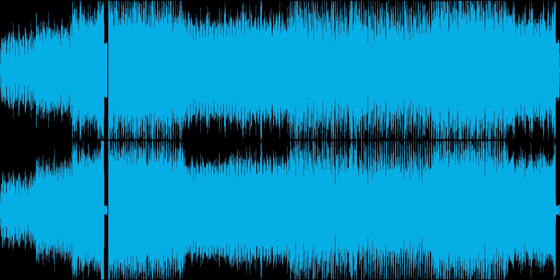 【ループ】アンビエント/電子音・浮遊感の再生済みの波形