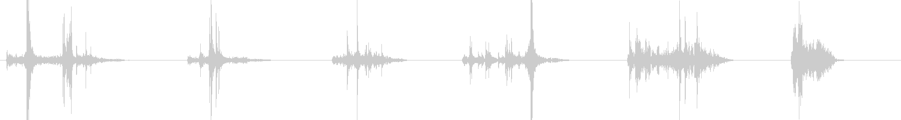 告白ボックス3;オープンとクローズ...の未再生の波形