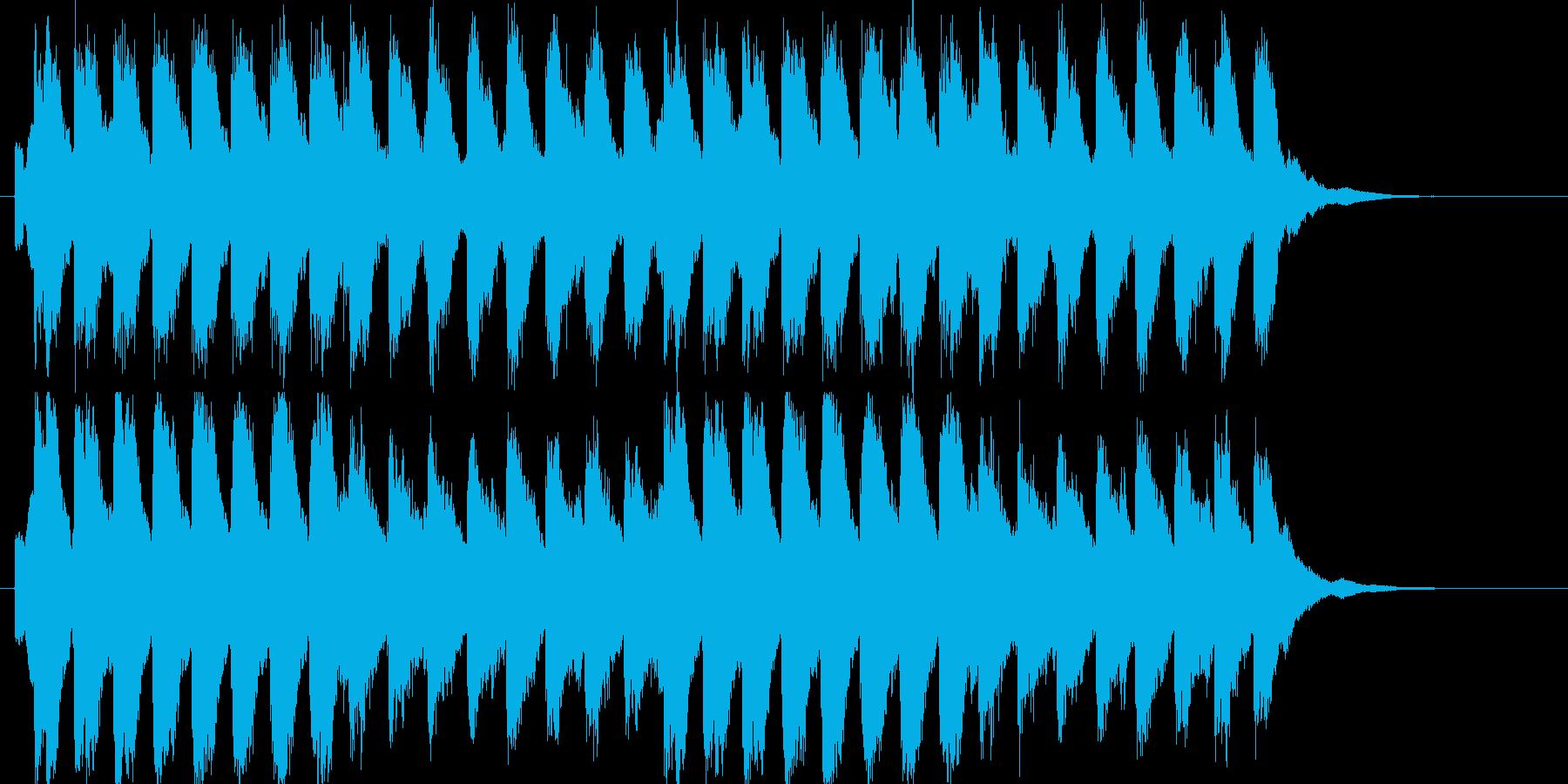 己と葛藤するイメージです。の再生済みの波形