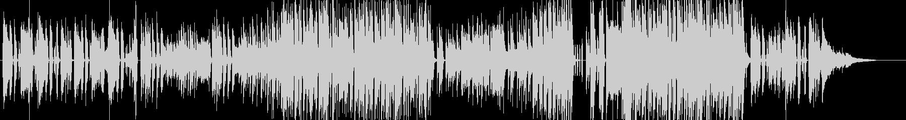 日常的で穏やかな雰囲気のピアノポップの未再生の波形