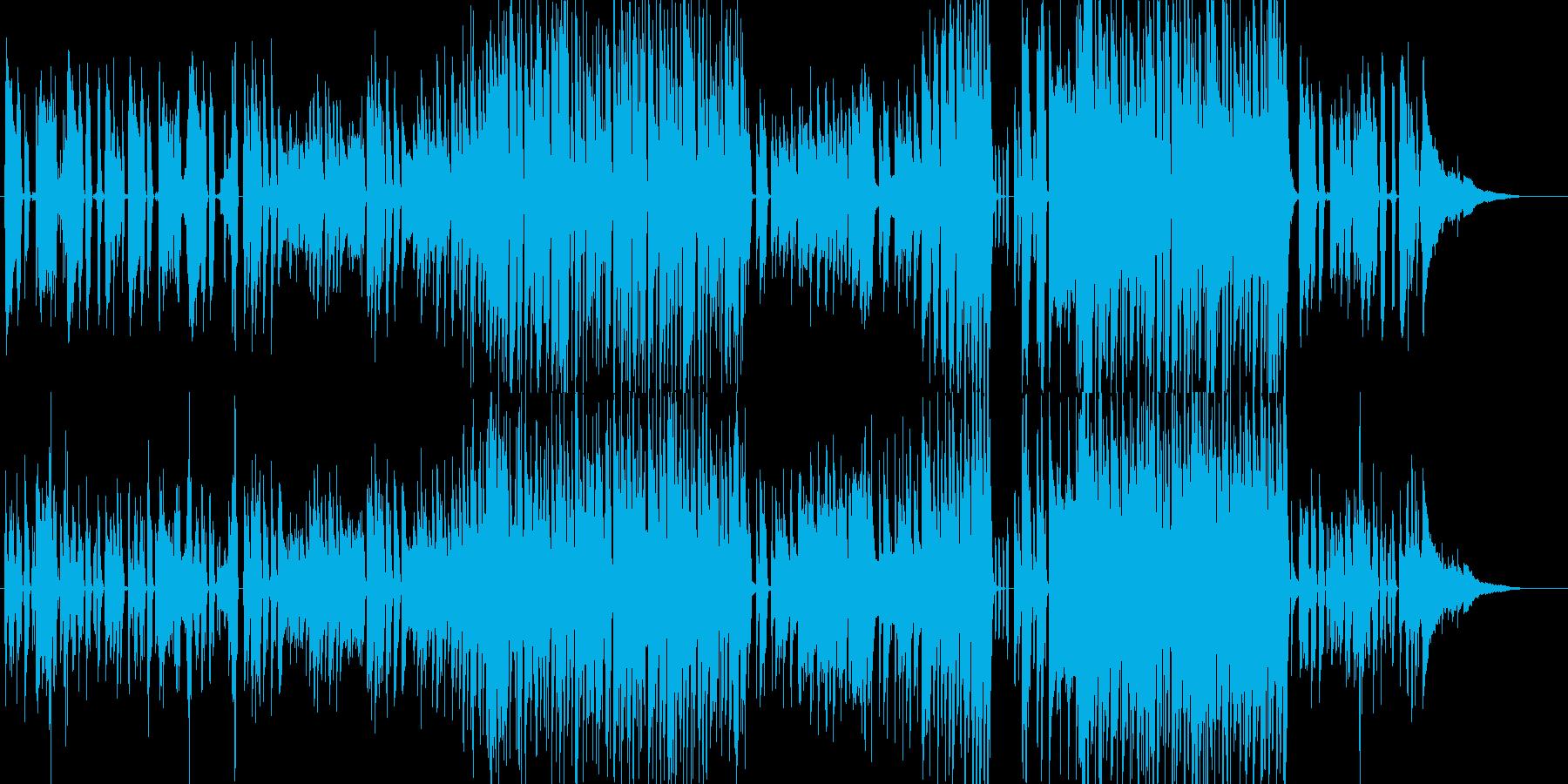 日常的で穏やかな雰囲気のピアノポップの再生済みの波形