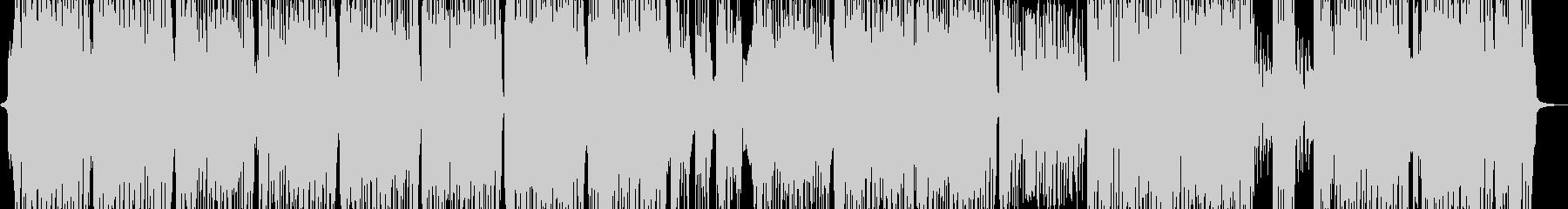 弾けるカラフルポップな映像や演出に Bの未再生の波形