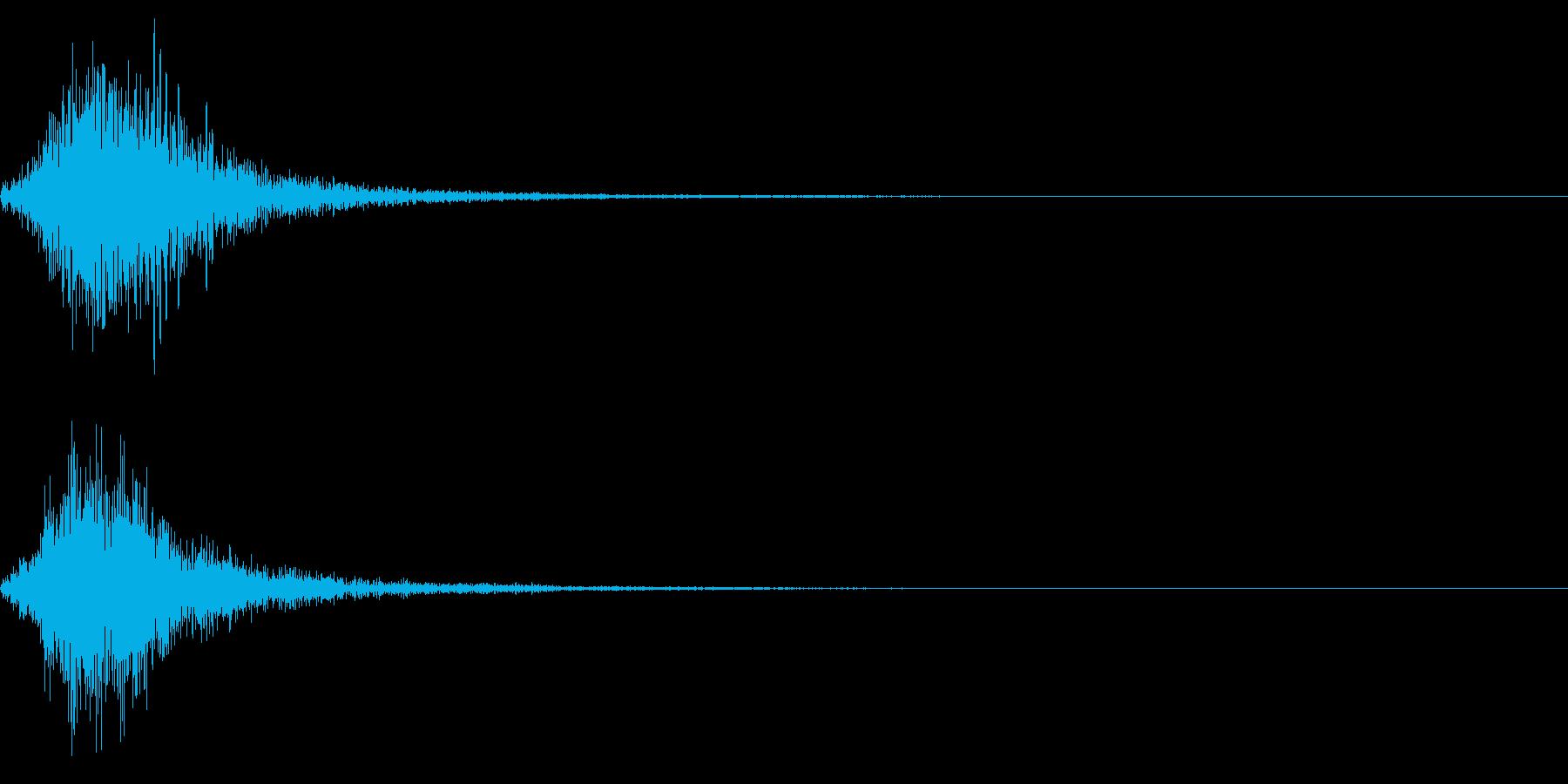 オーケストラによる~ジャン~の再生済みの波形