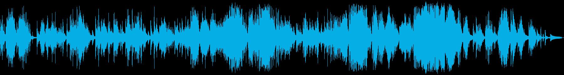 サラサラ ジャズ 感情的 バラード...の再生済みの波形