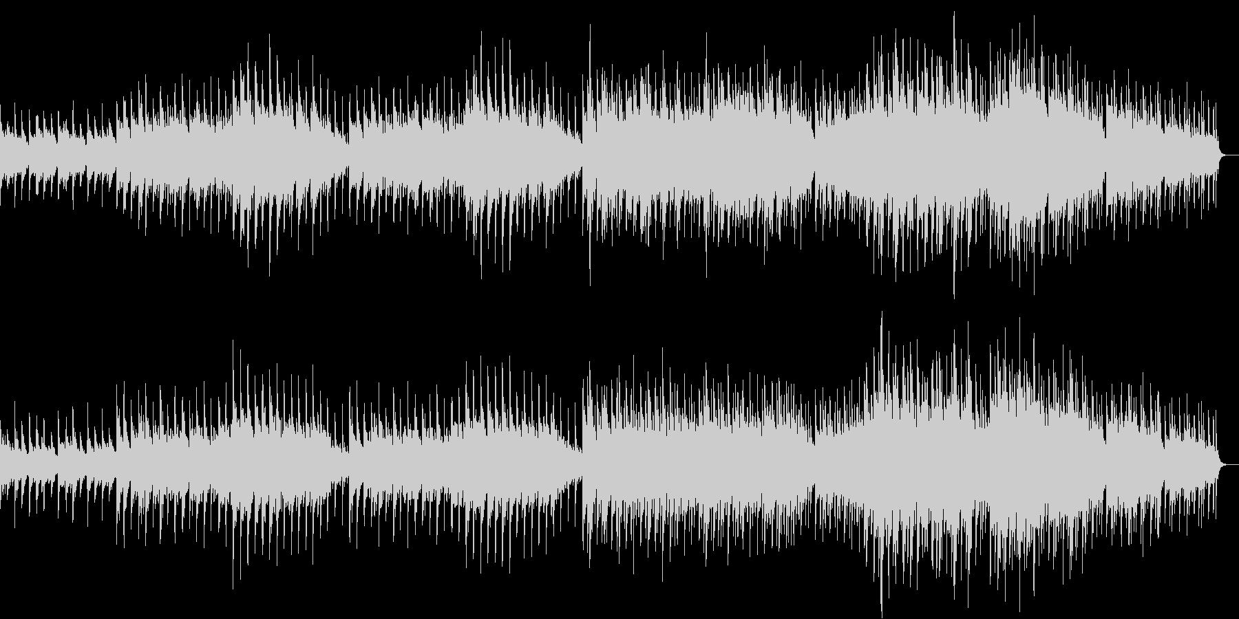 切なく情熱的な6/8拍子のピアノ曲の未再生の波形