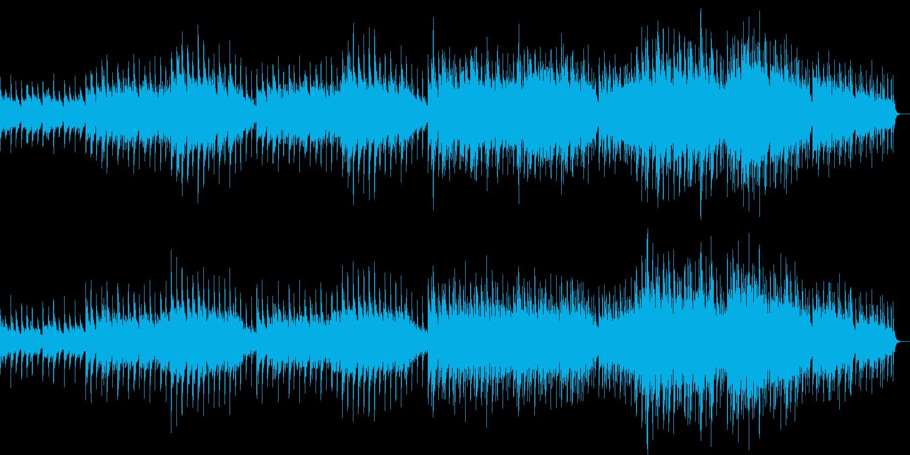 切なく情熱的な6/8拍子のピアノ曲の再生済みの波形