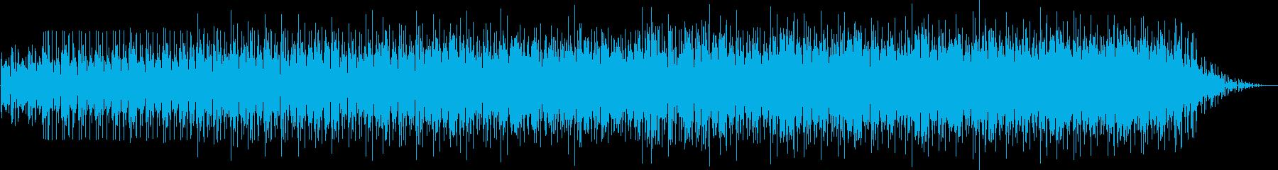 劇伴 ドライブ感のあるミニマルテクノの再生済みの波形
