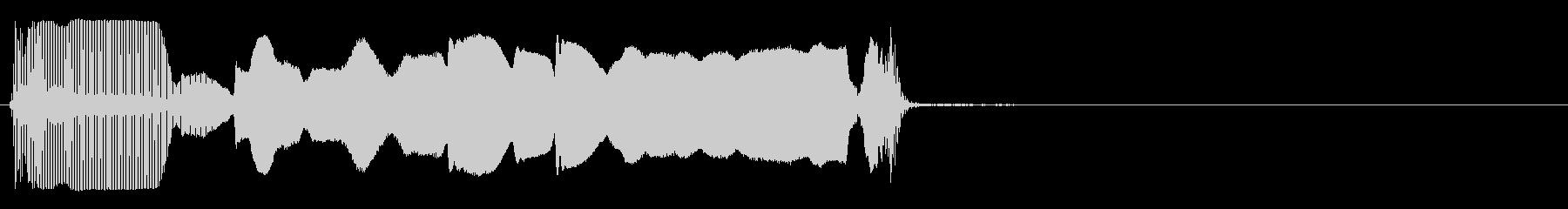トランペット:スライドアップ、ロン...の未再生の波形