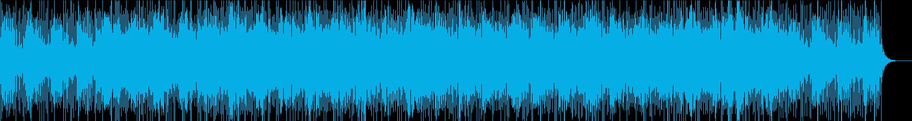 パズルゲーム等に 浮遊感あるテクノポップの再生済みの波形