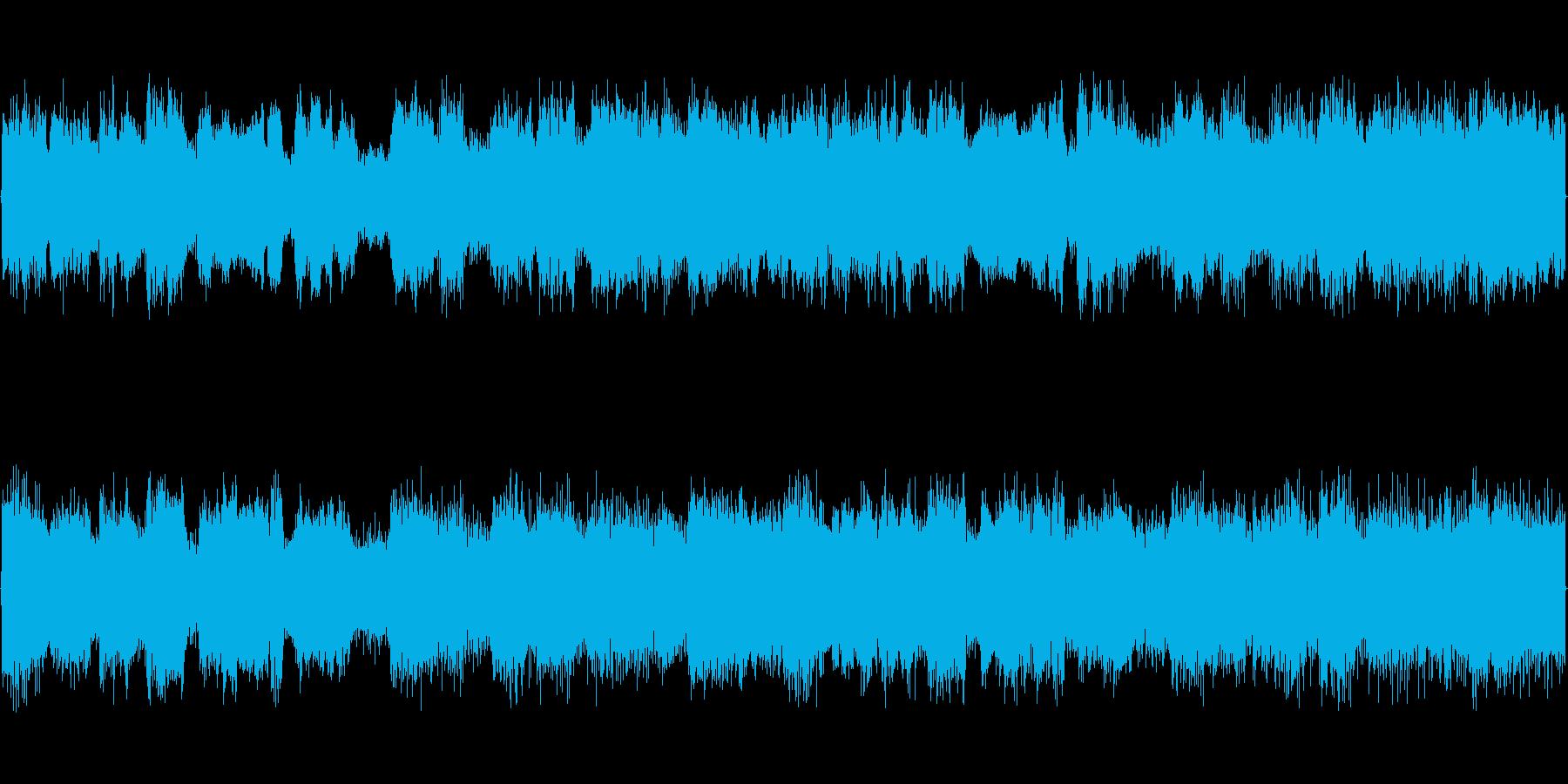 目覚まし用の音です。の再生済みの波形