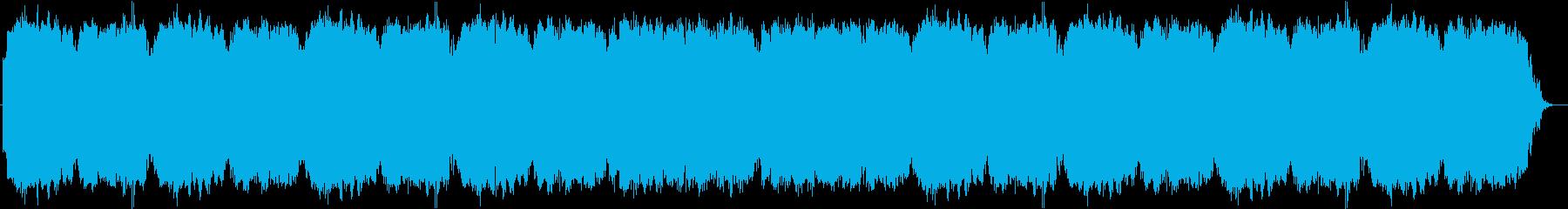 二胡(中国の民族楽器)を使用したBGMの再生済みの波形