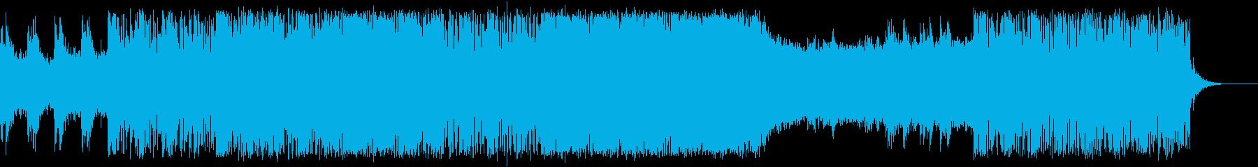 作戦決行のシーン・エレクトロの再生済みの波形