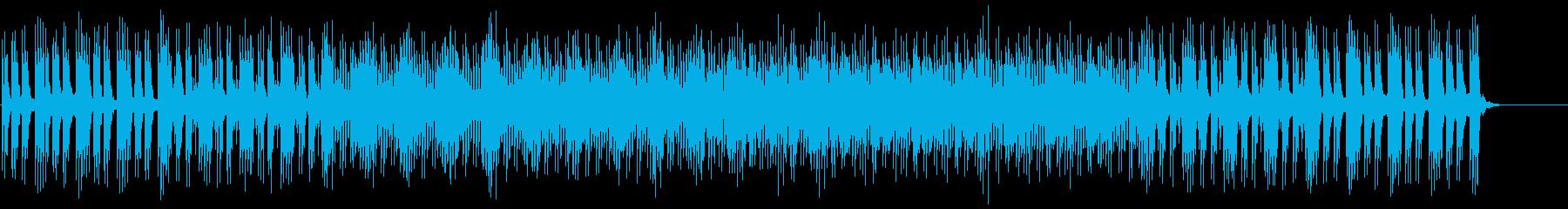 ミステリアスなマイナー・テクノ・ポップの再生済みの波形