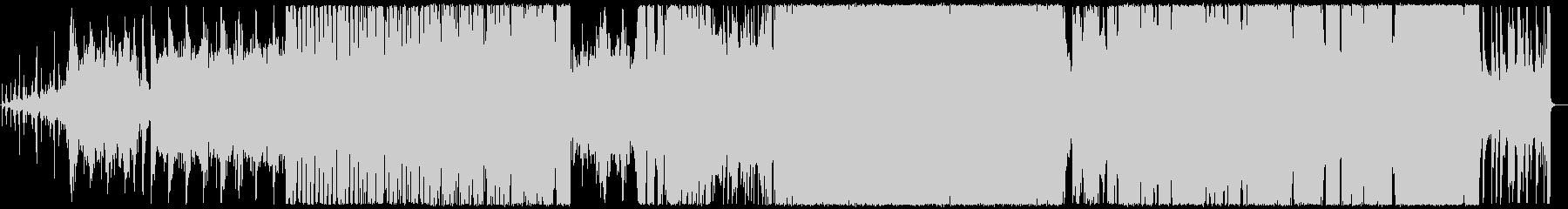 ピアノとアコギの優しいロックの未再生の波形