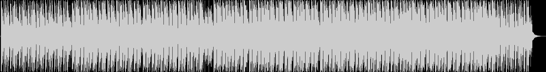 リズムが印象的な曲の未再生の波形