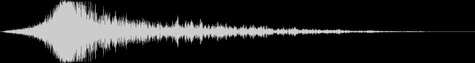 【インパクト】壮大なヒット音_03の未再生の波形