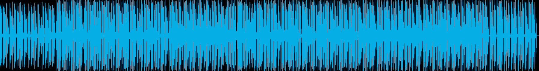 明るい感じのlofi HIPHOP の再生済みの波形